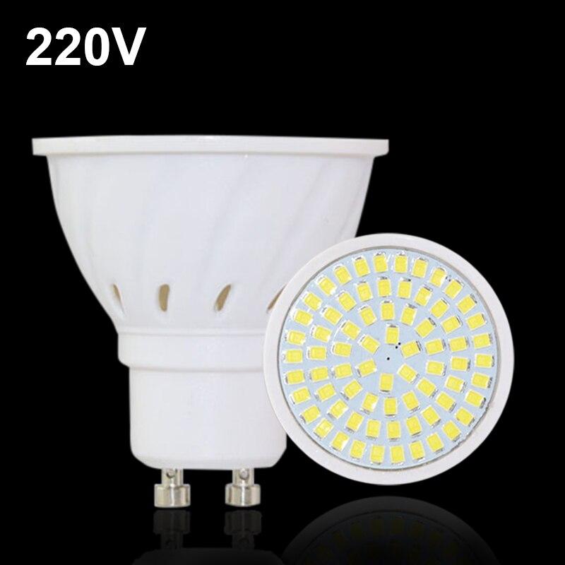 20pcs gu10 mr16 220v e27 lampada led lamp smd 2835 ampoule. Black Bedroom Furniture Sets. Home Design Ideas