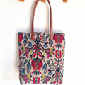 Women Bag Retro Vintage Aztec Tribal Chic Bohemian Boho Hippie Jacquard Shopping Bag Designer Handbags High Quality Tote Bag