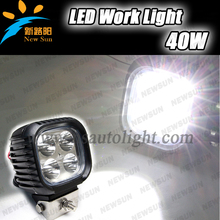 2016 NEW model LED work light Cree chips 40W,free replacement 12v led working light for Car,SUV,Tractor,Truck,Boat