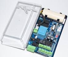 Controlador do cartão da placa de circuito da barreira do estacionamento para a porta automática da barreira do crescimento wejoin motor 110 v 220 v ac (capacitor opcional)