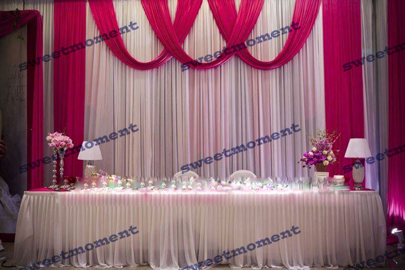 Buy fuschia wedding decorations and get free shipping on aliexpress junglespirit Image collections