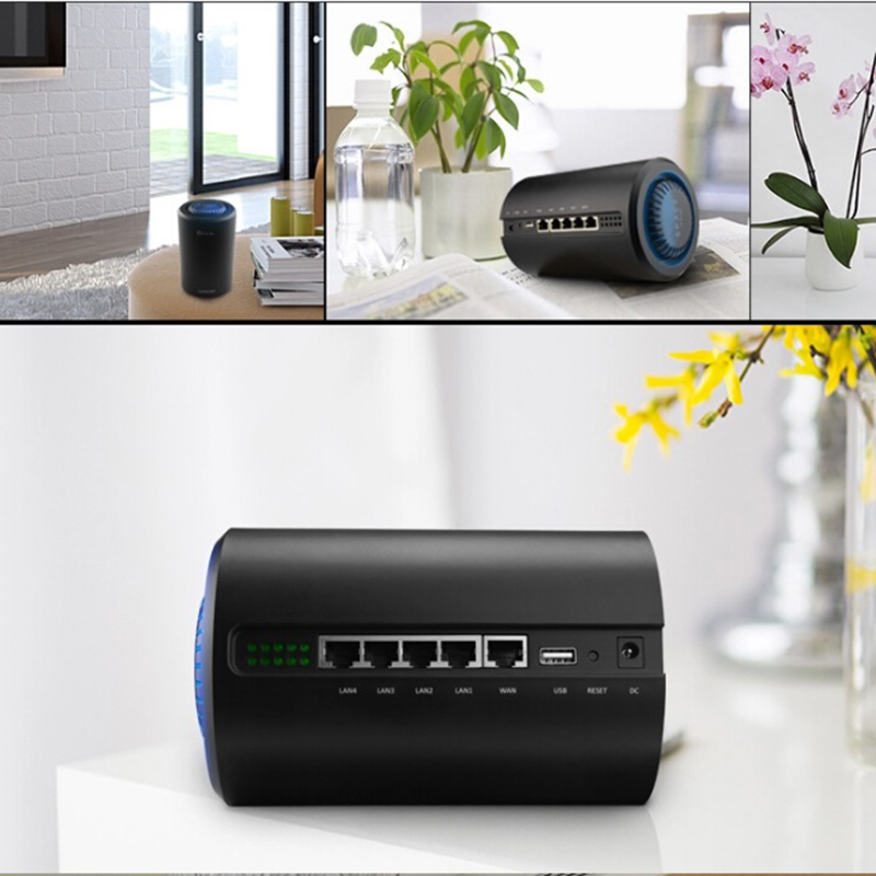 Image 3 - 11AC gigabit 5G router wifi repeater 1200Mbps dual band through wall high power range extender access point long range-in Wireless Routers from Computer & Office