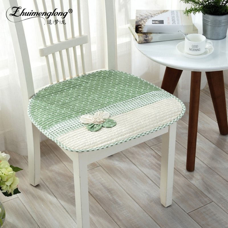 Zhuimenglong Kitchen Chair Cushions Seat Mat Pad Seasons Dining Chair  Cushion Car Mat,Antisilp Seat