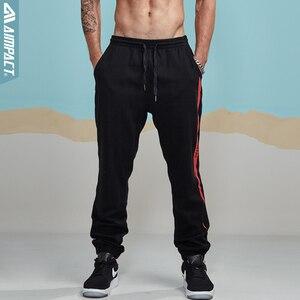 Image 3 - Aimpact 2018 nowy na co dzień Jogger spodnie męskie aktywny elastyczny miejskich Biker spodnie męskie bawełniane sznurek spodnie dresowe męskie śledzić spodnie AM5003