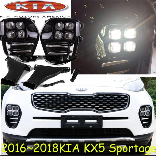 2016~2017 KlA sportage KX5 daytime light,Free ship!LED,KlA sportage KX5 fog light,2ps/set,k5,KX 5 kla sportager headlight 2011 2014 free ship sportager daytime light 2ps se 2pcs ballast sportage sportage r