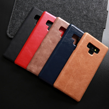 Luxury Genuine Leather Case For Samsung Galaxy Note 9 Cowhide Fashion Cover for Note9