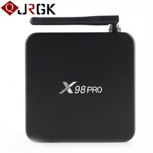 X98 Pro Android 6.0 Marshmallow Smart TV Box Amlogic S912 Octa-Core Set-top Boxes 3GB 32GB BT4.0 Wifi 4k Utral HD Media Player