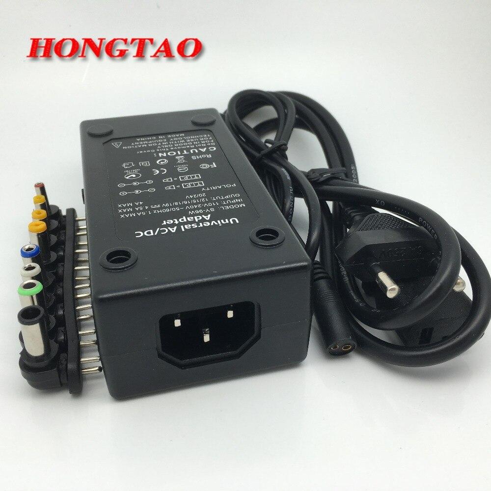 110-220v AC na DC 12V / 15V / 16V / 18V / 19V / 20V / 24V prenosni - Računalniški kabli in priključki - Fotografija 6