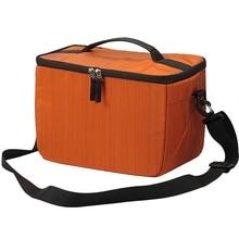 Waterproof Dslr Slr Camera Shoulder Bag Insert Padded Partition Lens Bag Case цена