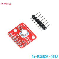 MS5803 MS5803 01BA Sensor Module High Precision Fluid Liquid Gas Voltage Waterproof I2C/SPI Pressure Sensors