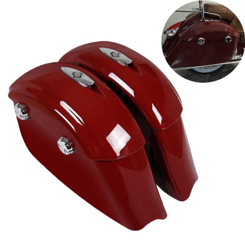 Sac de selle de moto couvercle de verrou électronique pour chef indien classique Springfield cheval foncé Roadmaster Limited Elite