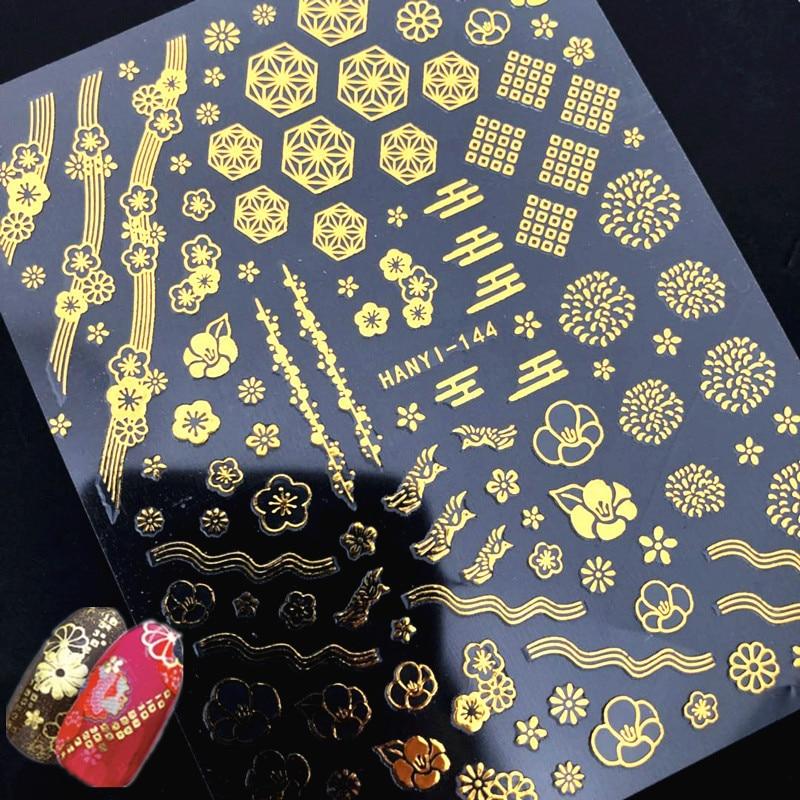 NIEUWSTE kleurrijke steen 3d nail art sticker SOLONAIL - Nagel kunst