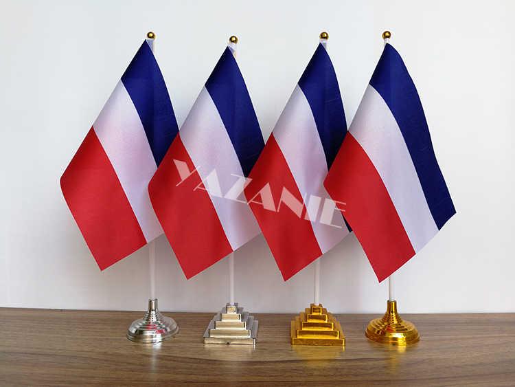 YAZANIE 14*21 см, 4 шт., флаг для словенства, Туниса, польского национального стола, Голландский Флаг, Голландский Флаг с пластиковой основой