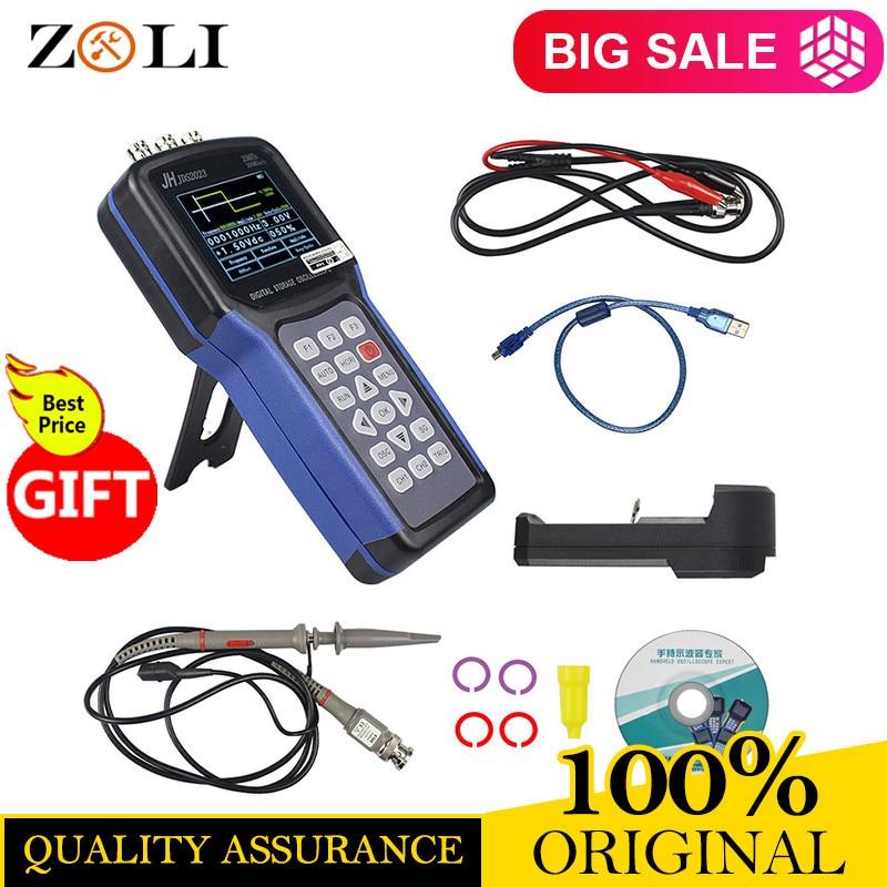 Jinhan JDS2023 Handheld Oscilloscope 1 Channels 20MHz oscilloscope JDS2023 200MSa s 16 bit true color IN
