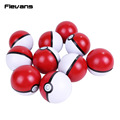 Monster PVC Poke Ball Toys Soft Ball Model Toys Dolls Kids Gift10pcs/lot 6cm