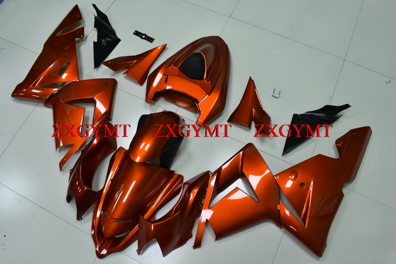 Fairings for ZX-10r 2004 - 2005 Fairing Kits for Kawasaki ZX10r 2004 Orange Full Body Kits ZX10r 05Fairings for ZX-10r 2004 - 2005 Fairing Kits for Kawasaki ZX10r 2004 Orange Full Body Kits ZX10r 05