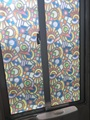 85cm*300cm top grade colours self adhesive decorative frosted privacy window film 9558
