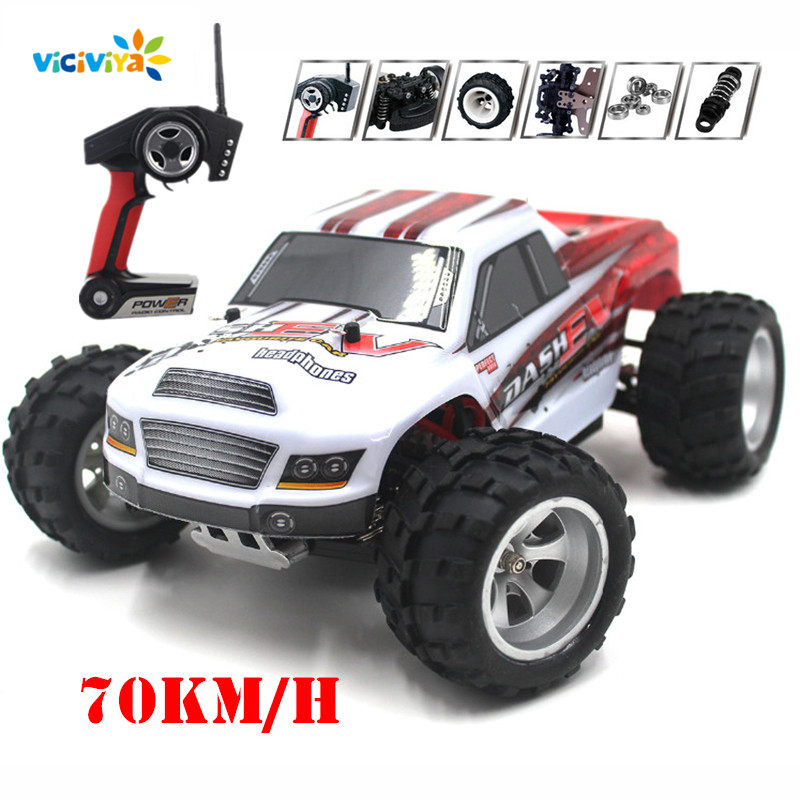 A979-B 1:18 Scale 4WD 70KM/H RC Car Remote Control Racing Car Super Power High Speed Monster Truck Off-Road Vehicle Buggy Car new 7 2v 16v 320a high voltage esc brushed speed controller rc car truck buggy boat hot selling