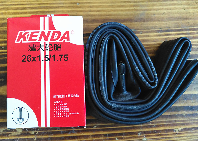 Kenda Bicycle Tube tire 26X1 5 1 75 MTB Mountain bike Tube Bicycle Parts 1pcs in Bicycle Tires from Sports Entertainment