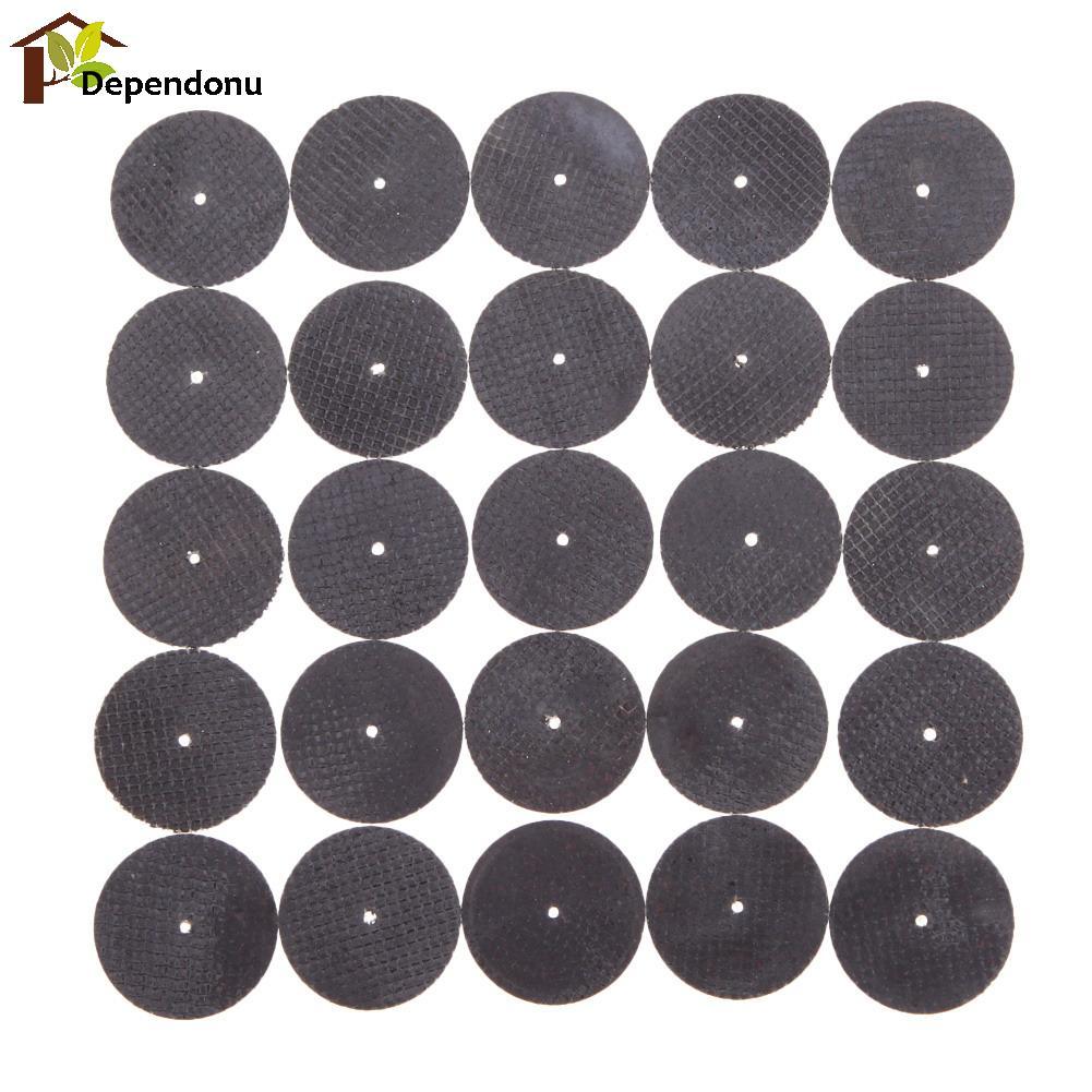 25pcs metallo Dremel smerigliatrice a disco utensili rotanti circolare sega circolare mola taglio levigatura accessori Dremel