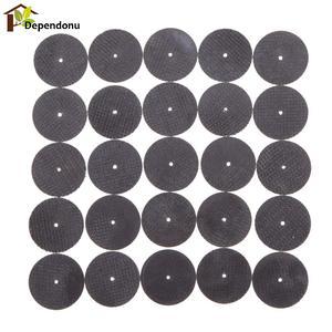 25pcs Metal Dremel Cutting Disc Grinder Rotary Tools Circular Saw Blade Grinding Wheel Cutting Sanding Dremel Accessories
