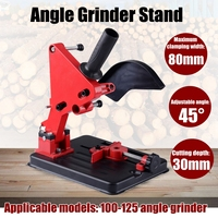 Angle Grinder Stand Angle Grinder Bracket Holder Support for 100 125 Angle Grinder