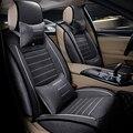 Alta calidad Universal del asiento de coche de lino cubre Para peugeot 205 307 206 308 207 406 301 607 3008 4008 coche accesorios