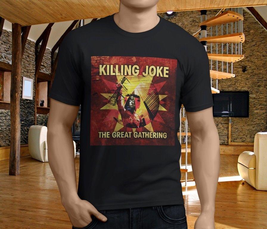 New Popular Killing Joke British Rock Band Whats Black MenS T Shirt Size S 4Xl