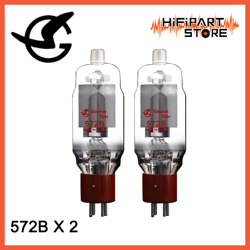 2pcs New Matched Pair ShuGuang 572B Vacuum Tube For Tube Amplifier