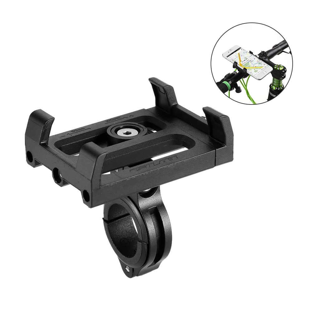 GUB antypoślizgowy rower regulowany uchwyt telefonu uchwyt mocujący uchwyt zaciskowy na kierownicę do telefonu komórkowego 3.5-6.2 cala