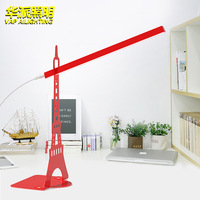 Desk lamp USB led Table Lamp 14 LED Table lamp with Clip Bed Reading book Night Light LED Desk lamp Table Touch 3 Modes