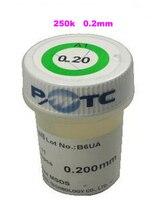 1PCS PMTC Leaded Solder Balls 250k 0 2 Mm For Bga Rework Reballing Solder Ball