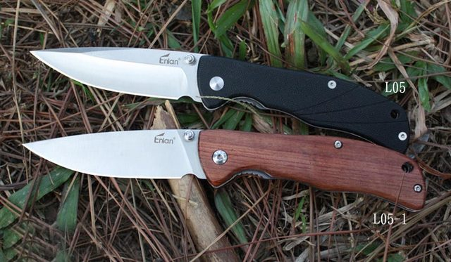 Wooden Handle Diving Knives