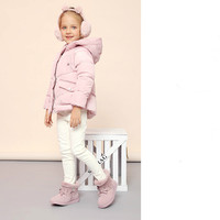 New Girls Snow Boots Plus Velvet Warm Leather Boots Children's Low Boots