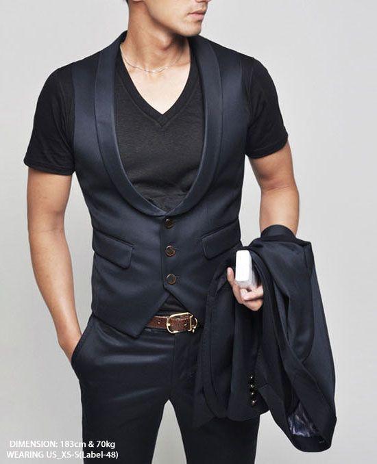 Mens vest with t shirt leklust kalmar investments