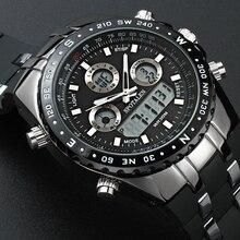 Relojes Hombres SPOTALEN Marca de Lujo Del Deporte Del Reloj de Los Hombres Reloj de Pulsera Militar Digital LED Relojes Reloj de pulsera de Cuarzo Relogio masculino