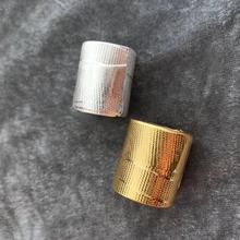 European Cold Metal Wind Designer Simple Gold and White Ring bague anillos mujer anel aneis anelli Women ring bisuteria