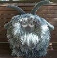 Cinza Cabra Travesseiro Crochê para o uso do bebê, decorar a casa