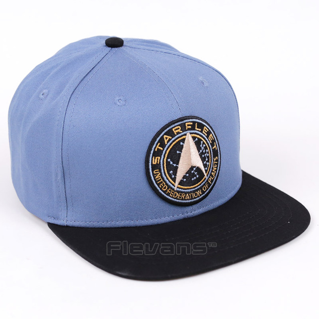 71111a24595 2017 Brand Fashion Adult Hat Star Trek Starfleet Adjustable Baseball Caps  Unisex Men Women Hip Hop Snapback Cap Hat
