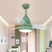 24 Вт потолочный светильник Вентилятор Форма гостиная триколор 220 В потолочный вентилятор свет экономия энергии и защита окружающей среды л