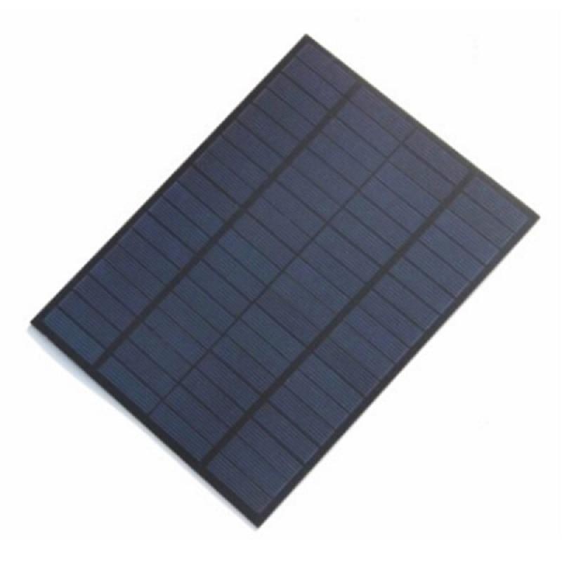 Solar panel 5W 18V solar panel laminate DIY solar panels A grade polysilicon rechargeable 12V colour black
