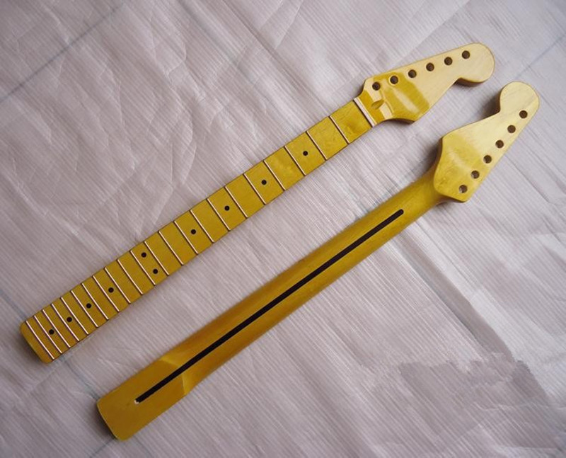 ФОТО Top quality 22 Fret  Electric Guitar Neck Guitar Parts strings guitarra musical instruments accessories
