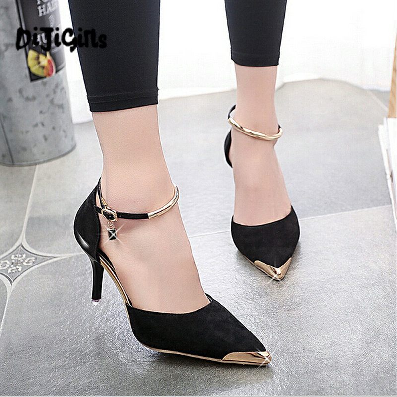 daee91cfaa Detail Feedback Questions about DIJIGIRLS Women Suede Pumps High Heels  Women OL Pumps Sexy High Heels Shoes Women Pointed Toe Thin Heel Ladies Wedding  Shoes ...