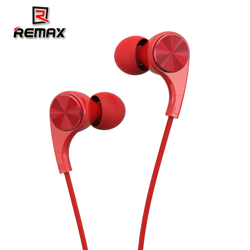 Remax RM-569 In Ear Earphone Stereo Headset with Microphone For iPhone,For xiaomi and other smart phones