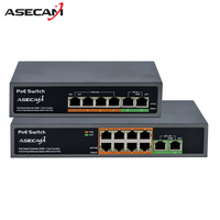 High Quality 48V PoE Switch Professional For IP Camera 2 4 Port 8 Port 10 100Mbps