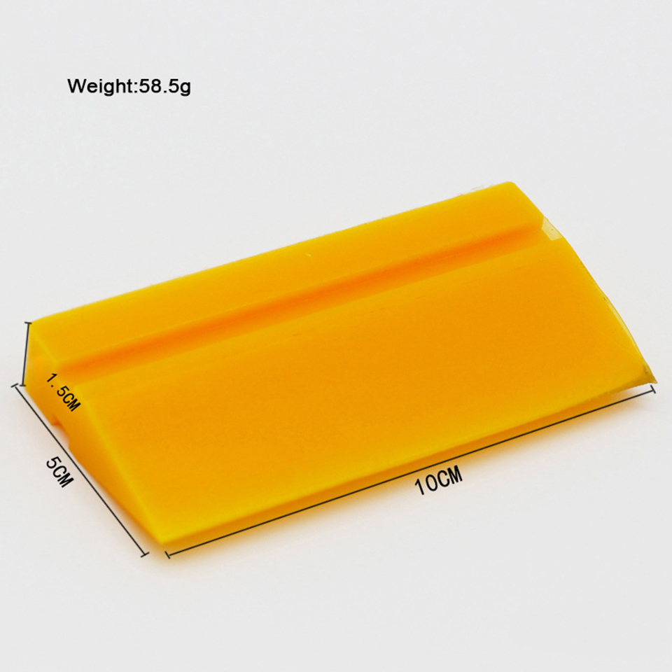 Image 4 - TPU PPF Application Rubber Squeegee Yellow Smoothie Turbo Scraper Wiper For Clear Bra Protection Film Installment MO 707 3 Sizes-in Car Stickers from Automobiles & Motorcycles