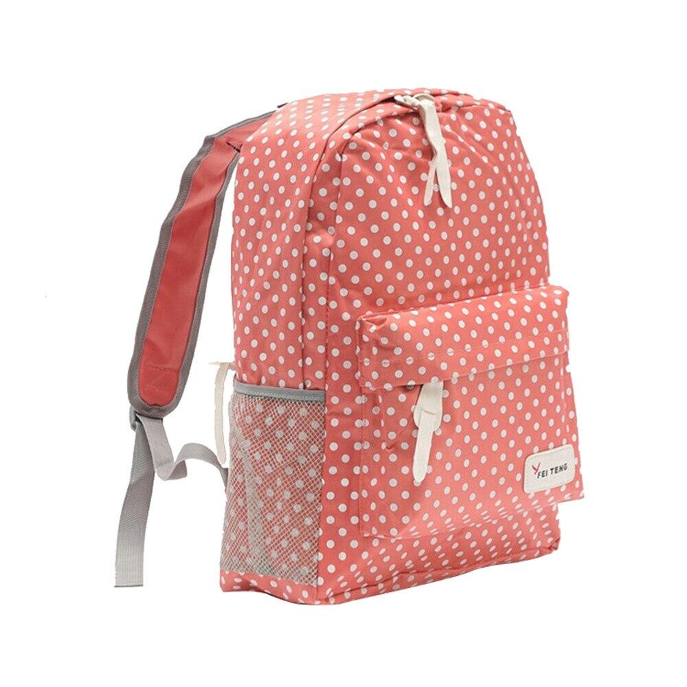 Для женщин рюкзак высокое качество розовый милый новые дышащие студенческие рюкзаки сладкий горошек школьные сумки для подростков девочек...