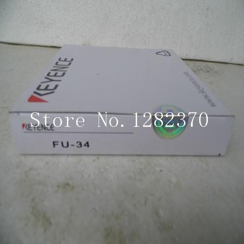 [SA] New original authentic special sales KEYENCE Sensor FU-34 spot --5PCS/LOT dhl ems 2 lots new keyence fu 34 transmissive fiber optic sensor switch