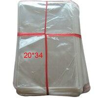 200 pçs/lote limpar autoadesivo Seal sacos de plástico OPP sacos 20 x 34 cm Fit luva de embalagem