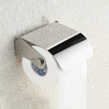 Bathroom Accessories Stainless Steel Toilet Paper Roll Holder Creative Bathroom Wall Mount Rack Toilet Paper Holder